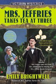 Mrs. Jeffries Takes Tea at Three (Mrs. Jeffries Series #7-9)